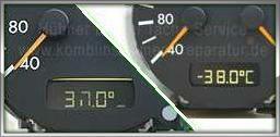 Mercedes Pixelfehler Kombiinstrument Tacho Reparatur