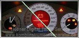 Mercedes w211 Kombiinstrument Reparatur